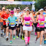 26.2 with Donna - Start - 2014
