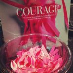 Bowl of Pink Ribbons - Courage