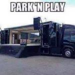 Park-n-play - a neat rig for our Bands!