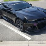 Custom Black Camaro